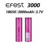 IMR 3000mAh Battery By Efest (x2)