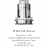 TF Tank Stick Mesh Replacement Coils 0.15Ω By Smok (x3)