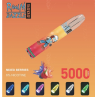Mixed Berries By RandM Dazzle Light Glowing Disposable Vape Device 5000 Puffs
