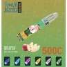 Red Apple Melon Ice By RandM Dazzle Light Glowing Disposable Vape Device 5000 Puffs